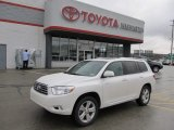 2010 Blizzard White Pearl Toyota Highlander Limited 4WD #60378793