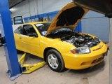 2003 Yellow Chevrolet Cavalier Coupe #60378474