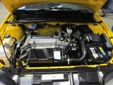 2003 Chevrolet Cavalier Coupe 2.2 Liter DOHC 16 Valve 4 Cylinder Engine