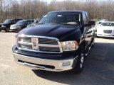 2012 True Blue Pearl Dodge Ram 1500 Big Horn Crew Cab 4x4 #60379150