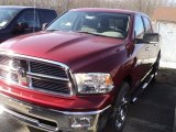 2012 Deep Cherry Red Crystal Pearl Dodge Ram 1500 Big Horn Crew Cab 4x4 #60379146