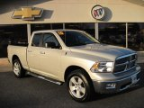 2010 Bright Silver Metallic Dodge Ram 1500 SLT Quad Cab 4x4 #60379130
