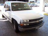 2002 Summit White Chevrolet Silverado 1500 LS Extended Cab #60445713