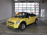 2005 Liquid Yellow Mini Cooper Convertible #60445710