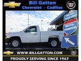 2012 Summit White Chevrolet Silverado 1500 Work Truck Regular Cab 4x4 #60445664
