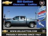 2012 Blue Granite Metallic Chevrolet Silverado 1500 LT Crew Cab 4x4 #60445663