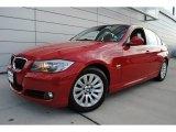 2009 Crimson Red BMW 3 Series 328xi Sedan #60444959