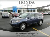 2012 Twilight Blue Metallic Honda CR-V EX-L #60445259