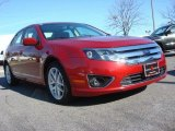 2010 Sangria Red Metallic Ford Fusion SEL #60444922