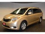 2011 Sandy Beach Metallic Toyota Sienna LE #60445560