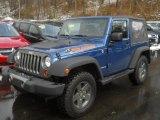 2010 Deep Water Blue Pearl Jeep Wrangler Sport Mountain Edition 4x4 #60445532
