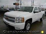 2012 Summit White Chevrolet Silverado 1500 LTZ Crew Cab #60444813