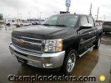 2012 Black Chevrolet Silverado 1500 LT Crew Cab #60444812