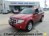 2009 Sangria Red Metallic Ford Escape XLT V6 #60444801