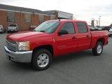 2012 Victory Red Chevrolet Silverado 1500 LT Crew Cab 4x4 #60445477