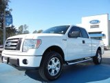 2010 Oxford White Ford F150 STX SuperCab 4x4 #60445121