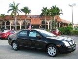 2008 Black Ebony Ford Fusion S #60445101