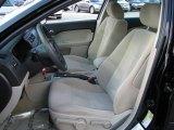 2008 Ford Fusion S Medium Light Stone Interior
