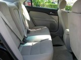 2008 Ford Fusion S Rear Seat