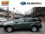 2012 Cypress Green Pearl Subaru Outback 2.5i Premium #60445078