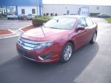 2010 Sangria Red Metallic Ford Fusion SEL #60445404