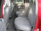 2008 Dodge Ram 3500 Laramie Quad Cab Dually Rear Seat