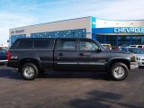 2003 Dark Gray Metallic Chevrolet Silverado 1500 LS Crew Cab 4x4 #60506326