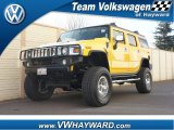 2003 Yellow Hummer H2 SUV Lux #60506890
