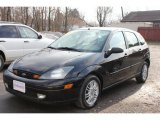 2003 Pitch Black Ford Focus ZX5 Hatchback #60506881