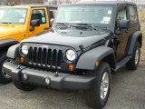 2012 Black Forest Green Pearl Jeep Wrangler Sport S 4x4 #60506231