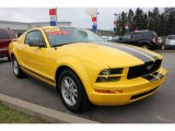 2006 Screaming Yellow Ford Mustang V6 Premium Coupe #60506865