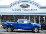 2012 Blue Flame Metallic Ford F150 XLT SuperCab 4x4 #60506536