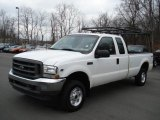 2002 Oxford White Ford F250 Super Duty XL SuperCab 4x4 #60506519
