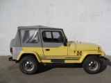 1989 Jeep Wrangler Malibu Yellow