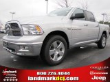 2012 Bright Silver Metallic Dodge Ram 1500 Big Horn Crew Cab #60506485