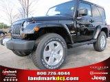 2012 Black Jeep Wrangler Sahara 4x4 #60506471