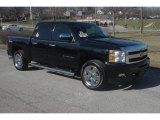 2010 Black Chevrolet Silverado 1500 LTZ Crew Cab 4x4 #60506799