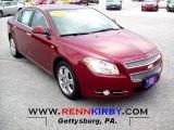 2008 Red Jewel Tint Coat Chevrolet Malibu LTZ Sedan #60506743
