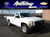 2012 Summit White Chevrolet Silverado 1500 Work Truck Regular Cab #60562103