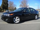 2009 Crystal Black Pearl Acura TSX Sedan #60561759