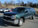 2003 Dark Green Metallic Chevrolet Silverado 1500 LS Extended Cab 4x4 #60561561