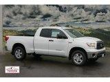 2012 Super White Toyota Tundra Double Cab 4x4 #60561195