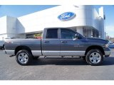 2004 Graphite Metallic Dodge Ram 1500 Laramie Quad Cab 4x4 #60561505