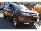 2008 Dark Cherry Pearl Acura MDX Sport #60561480