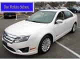 2011 White Platinum Tri-Coat Ford Fusion Hybrid #60561130