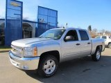2012 Silver Ice Metallic Chevrolet Silverado 1500 LT Crew Cab 4x4 #60561455