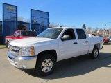 2012 Summit White Chevrolet Silverado 1500 LT Crew Cab 4x4 #60561453