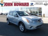 2012 Frosted Steel Nissan Rogue SV AWD #60561796