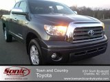 2009 Slate Gray Metallic Toyota Tundra Limited Double Cab 4x4 #60561741