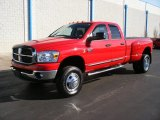 2007 Dodge Ram 3500 SLT Quad Cab 4x4 Dually Front 3/4 View